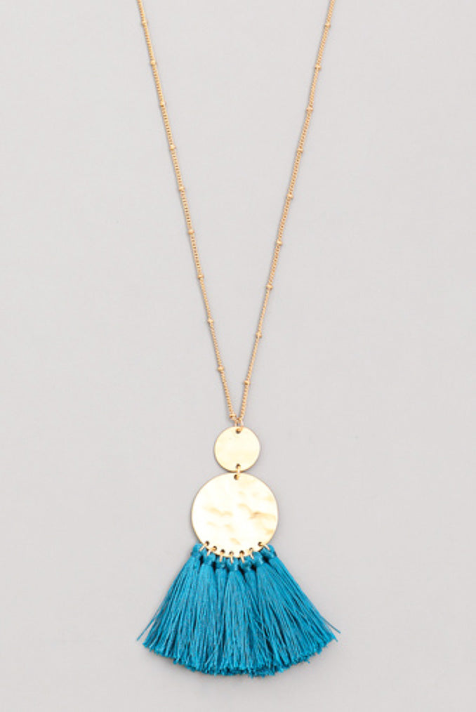 Camilla - Teal-Necklaces-Wholesale-Boutique-Clothing-Accessories