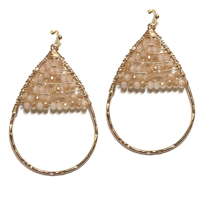 Camille - Ivory-Earrings-Wholesale-Boutique-Clothing-Accessories