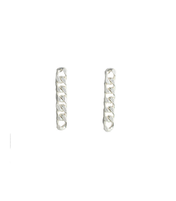 Camron - Worn Silver-Earrings-Wholesale-Boutique-Clothing-Accessories