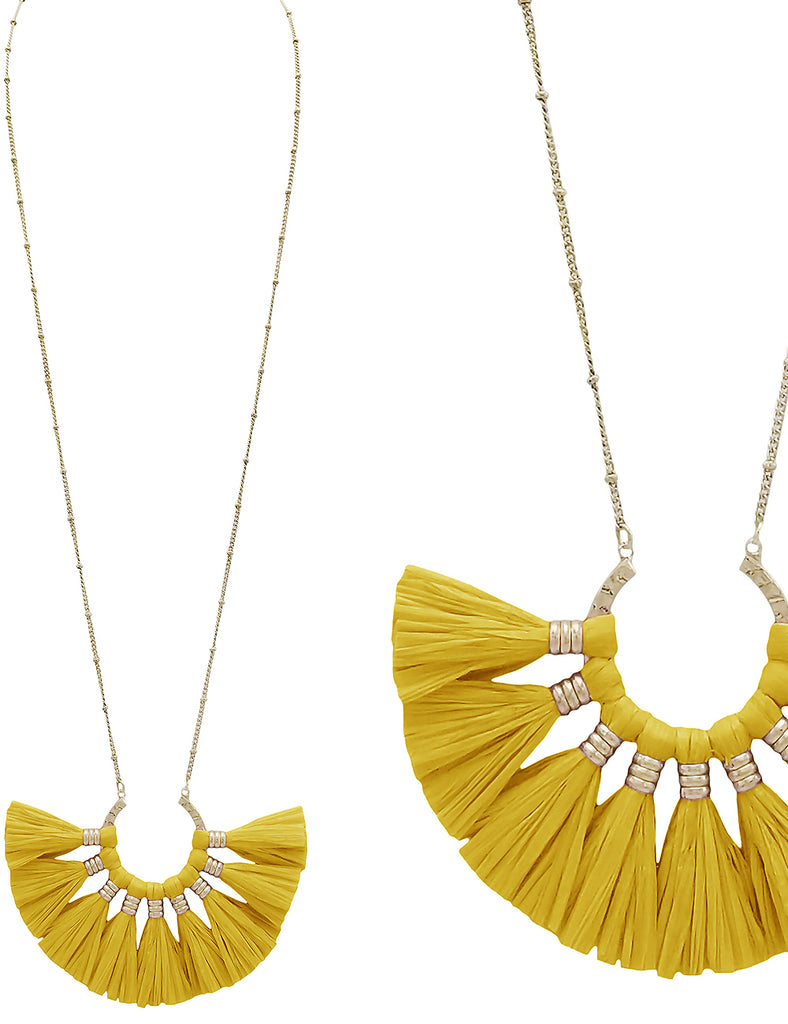 Carina - Yellow-Necklaces-Wholesale-Boutique-Clothing-Accessories