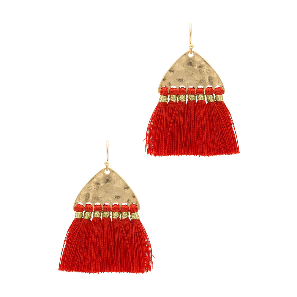 Ciera - Red-Earrings-Wholesale-Boutique-Clothing-Accessories