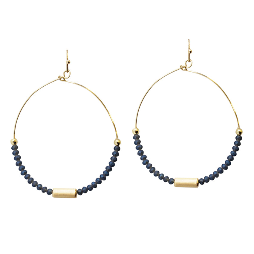 Claire - Blue-Earrings-Wholesale-Boutique-Clothing-Accessories