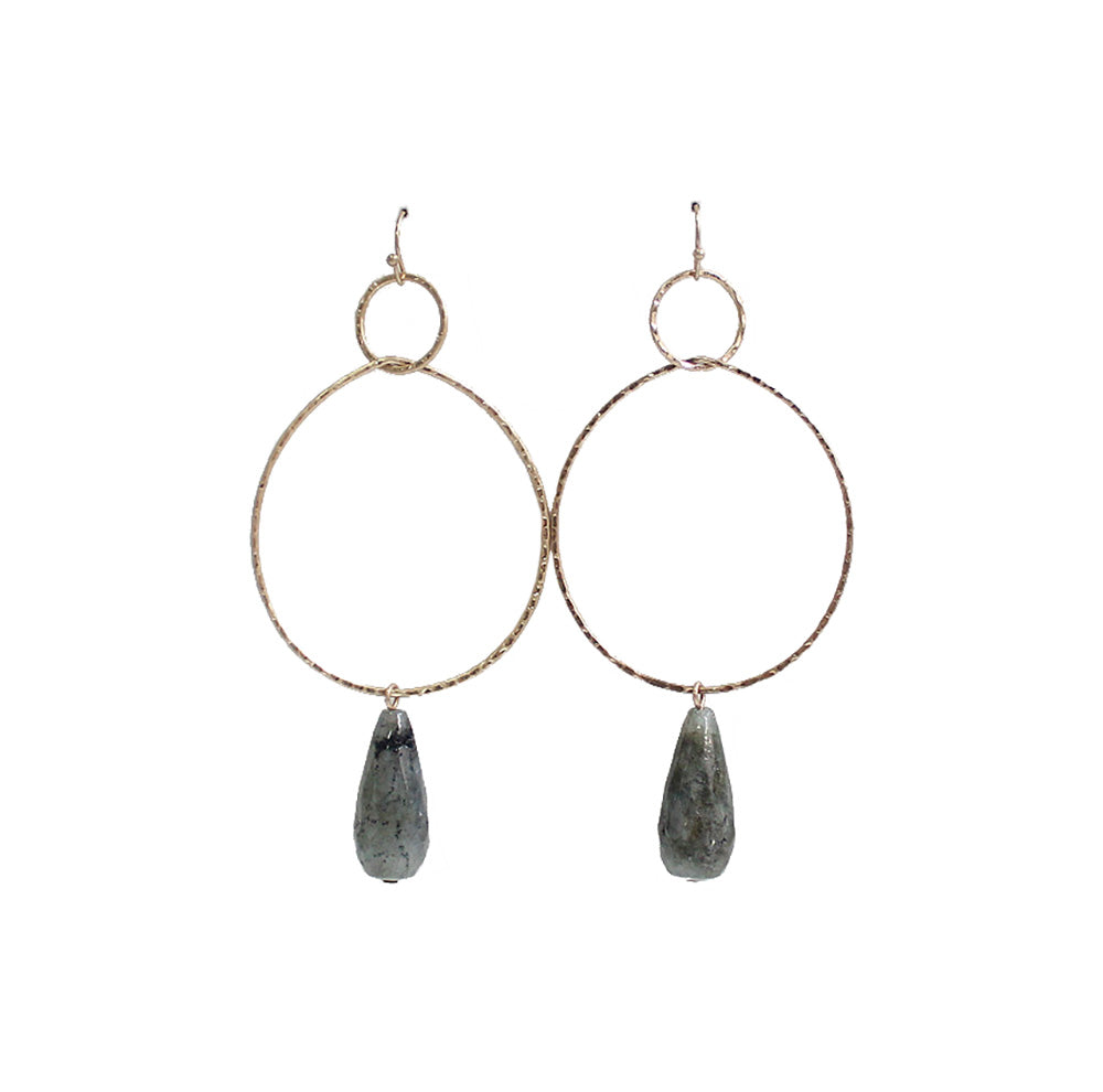 Cora - Gray-Earrings-Wholesale-Boutique-Clothing-Accessories