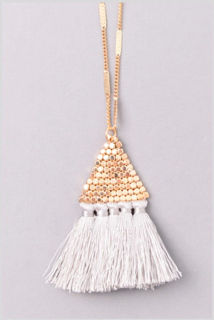 Delany - Gray-Necklaces-Wholesale-Boutique-Clothing-Accessories