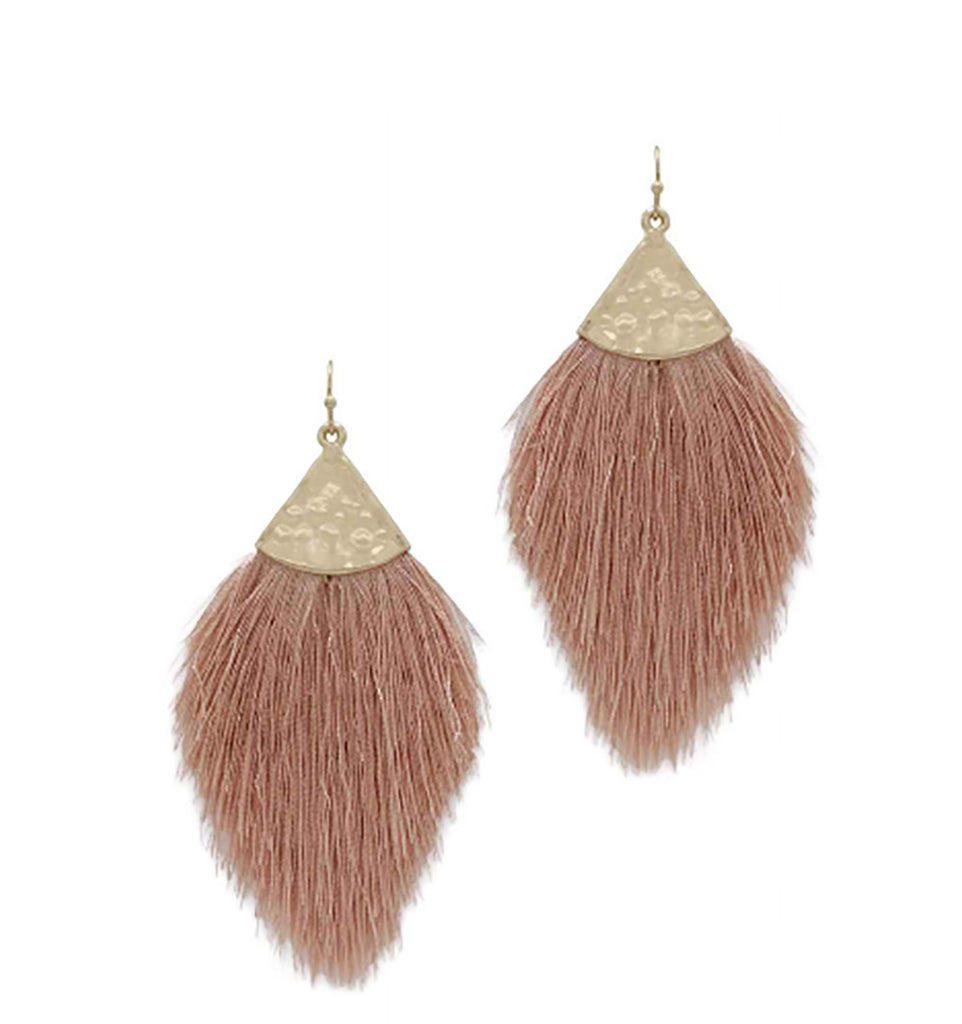 Destino - Dark Pink-Earrings-Wholesale-Boutique-Clothing-Accessories