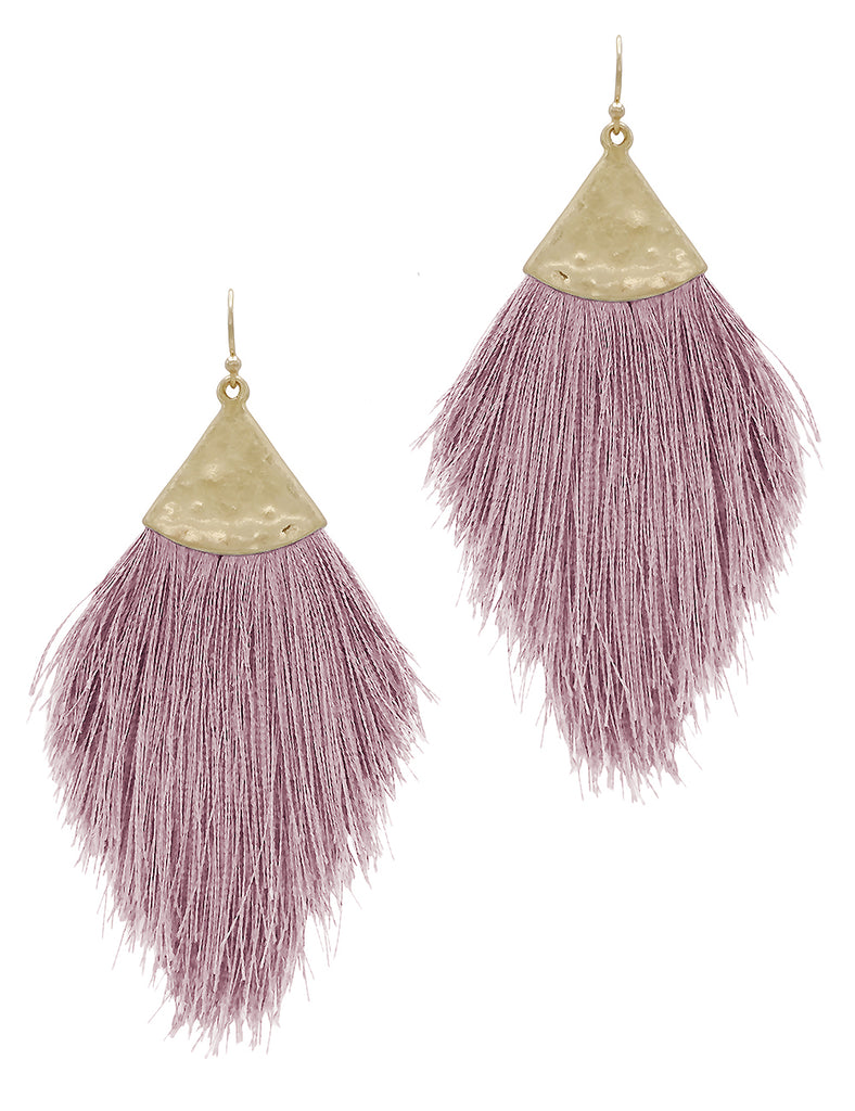 Destino - Pink Lavender-Earrings-Wholesale-Boutique-Clothing-Accessories