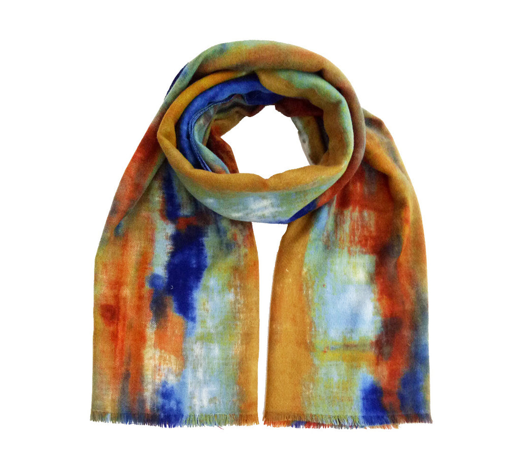 Diviana Scarf - Blue (2 pcs)-Scarves + Wraps-Wholesale-Boutique-Clothing-Accessories