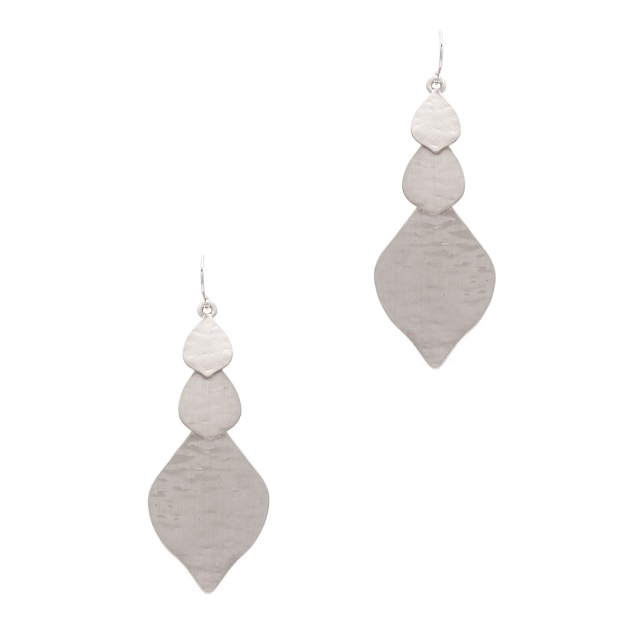 Emersyn - Satin Silver-Earrings-Wholesale-Boutique-Clothing-Accessories