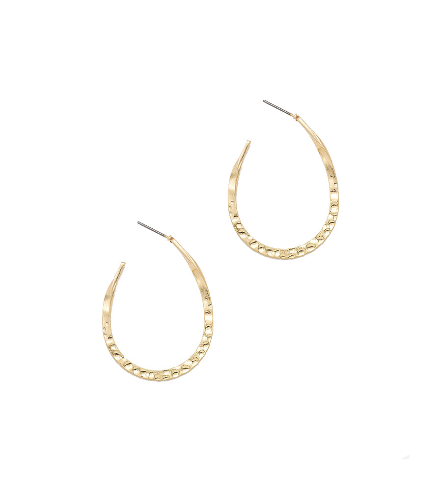 Emily - Worn Gold-Earrings-Wholesale-Boutique-Clothing-Accessories