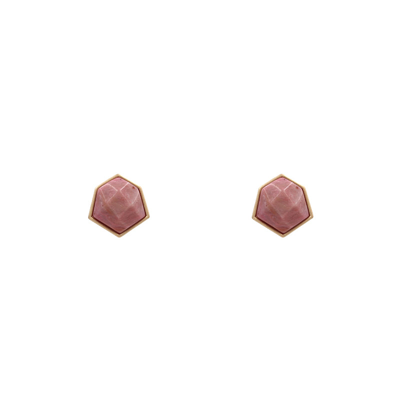 Gabriella - Dark Pink-Earrings-Wholesale-Boutique-Clothing-Accessories