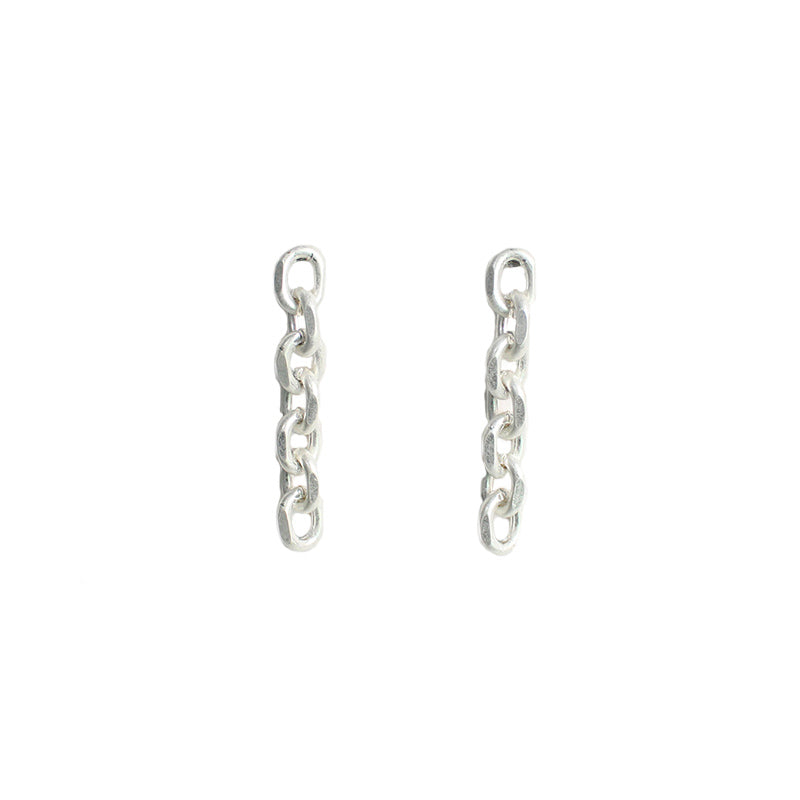 Harlow - Worn Silver-Earrings-Wholesale-Boutique-Clothing-Accessories