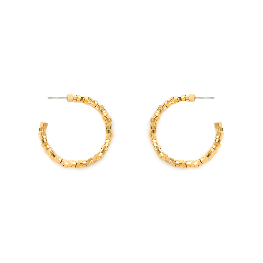 Iris - Gold-Earrings-Wholesale-Boutique-Clothing-Accessories