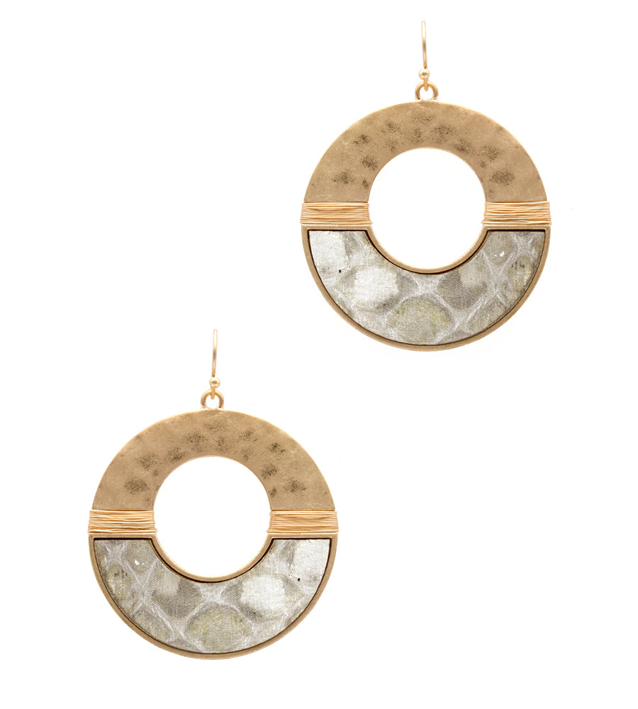 Isabelle - Ivory-Earrings-Wholesale-Boutique-Clothing-Accessories
