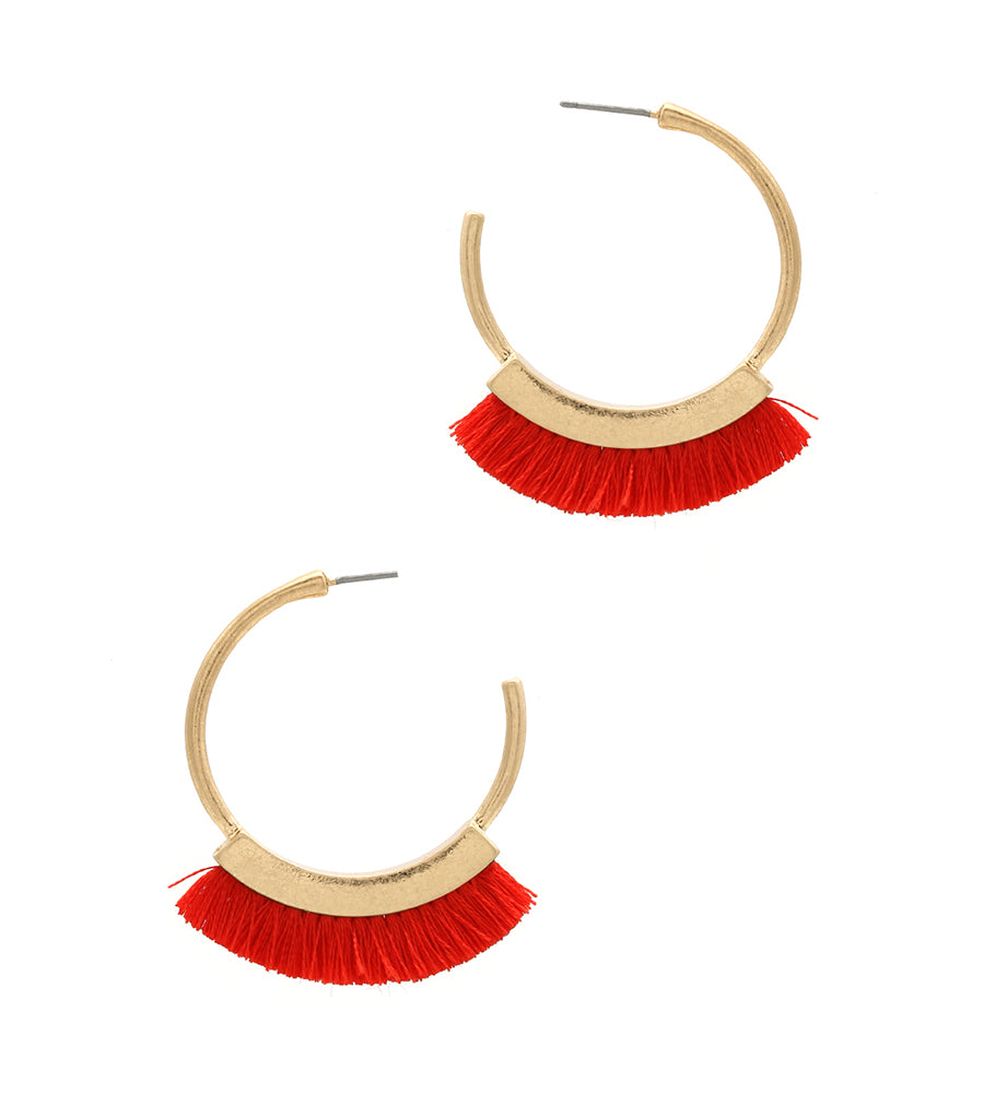 Julia - Red-Earrings-Wholesale-Boutique-Clothing-Accessories