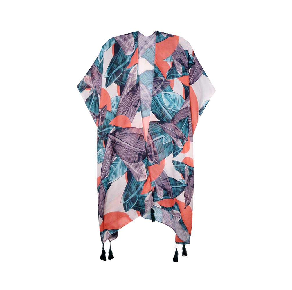 Kai - Coral-Kimonos + Outerwear-Wholesale-Boutique-Clothing-Accessories