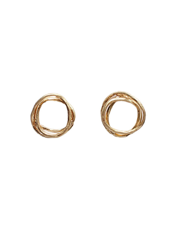 Macie - Worn Gold-Earrings-Wholesale-Boutique-Clothing-Accessories