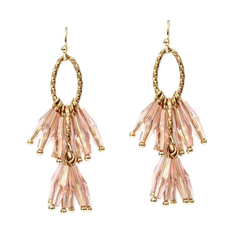 Maya - Pink-Earrings-Wholesale-Boutique-Clothing-Accessories
