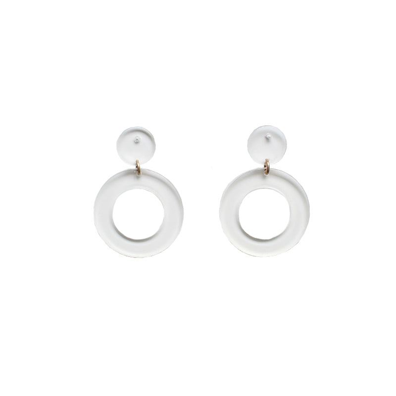 Molly - Clear-Earrings-Wholesale-Boutique-Clothing-Accessories