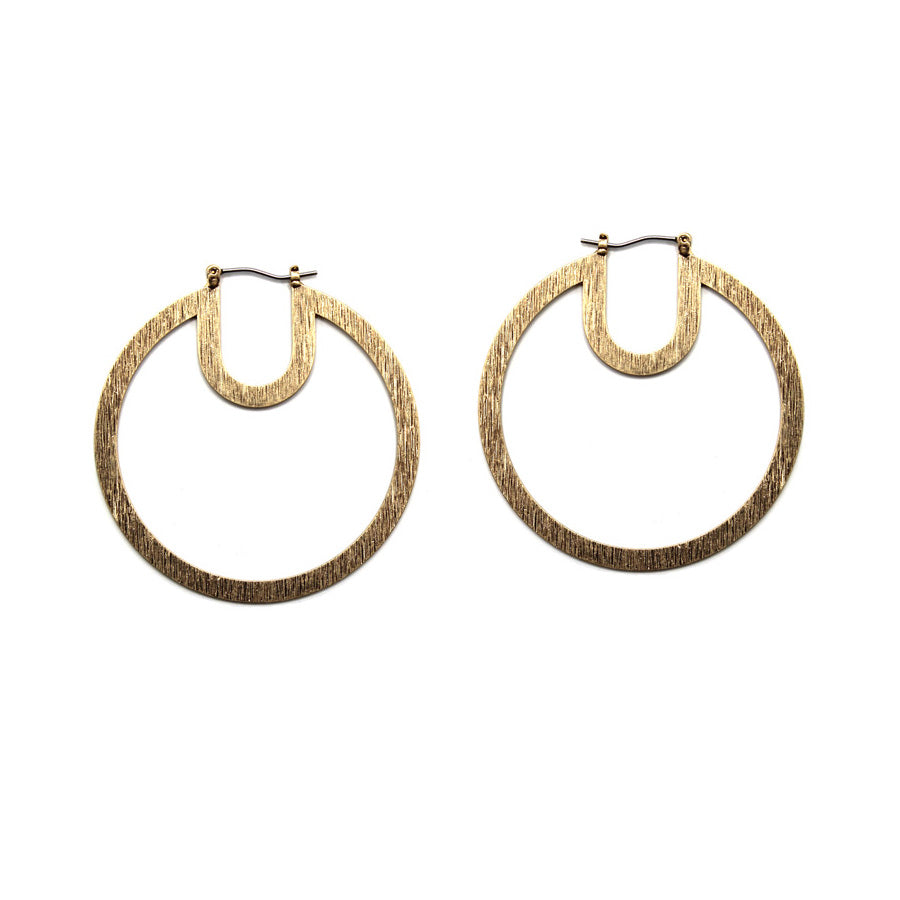 Nomi - Worn Gold-Earrings-Wholesale-Boutique-Clothing-Accessories