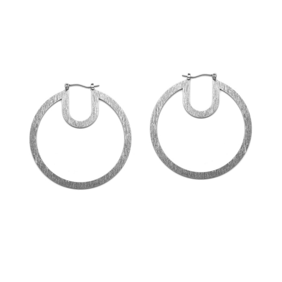 Nomi - Worn Silver-Earrings-Wholesale-Boutique-Clothing-Accessories