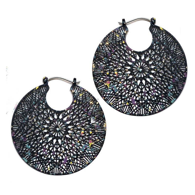 Rian - Black-Earrings-Wholesale-Boutique-Clothing-Accessories