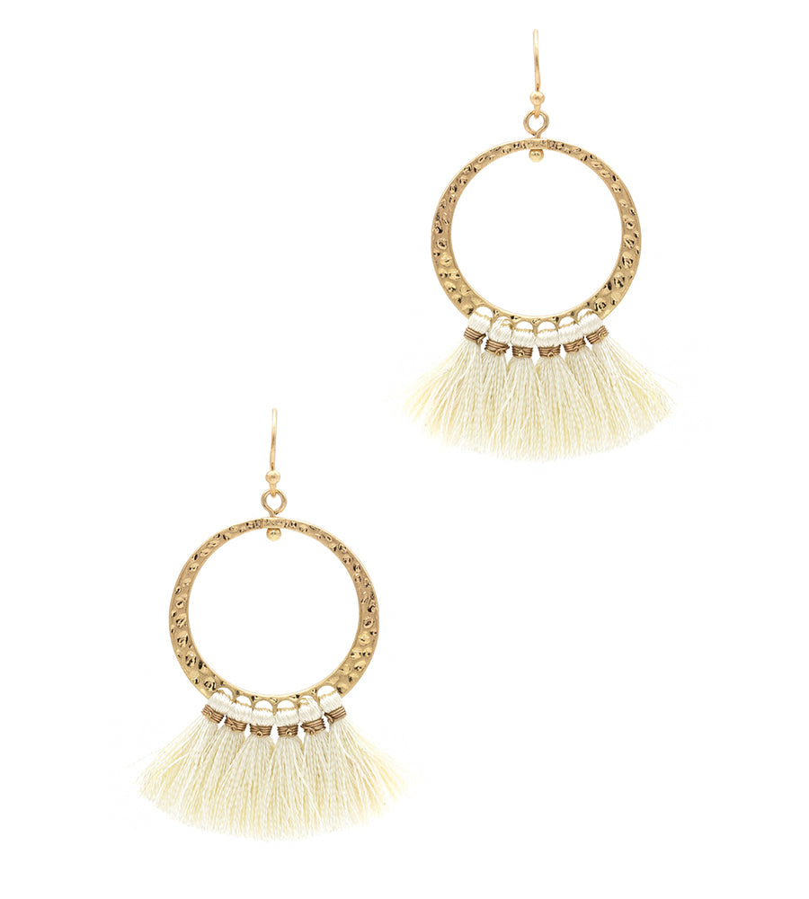 Riley - Ivory-Earrings-Wholesale-Boutique-Clothing-Accessories