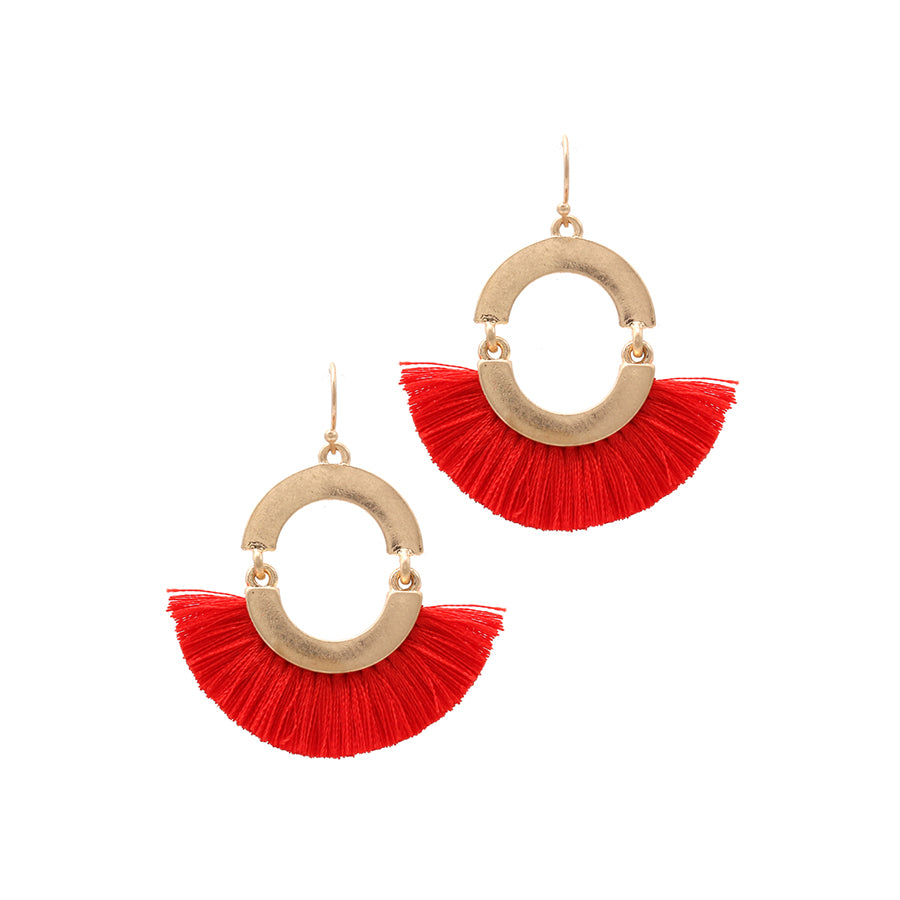 Tess - Red-Earrings-Wholesale-Boutique-Clothing-Accessories