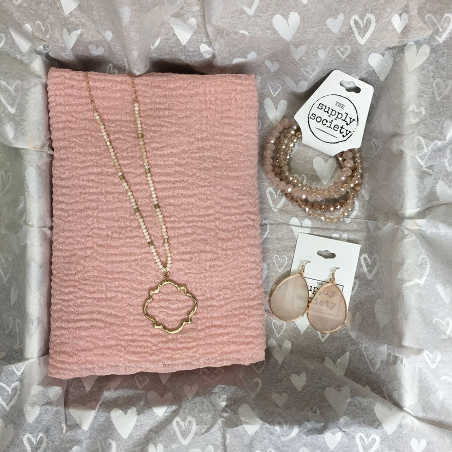 Valentine's Day Box #4-Wholesale-Boutique-Clothing-Accessories