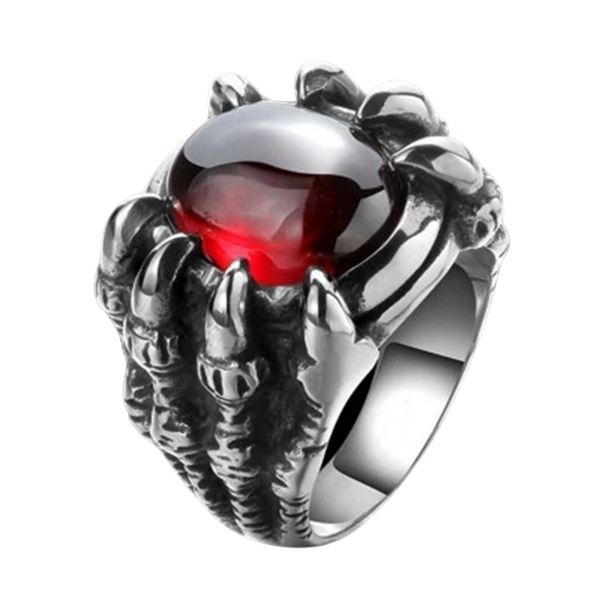 Big Dragon Claw Black Red Stone