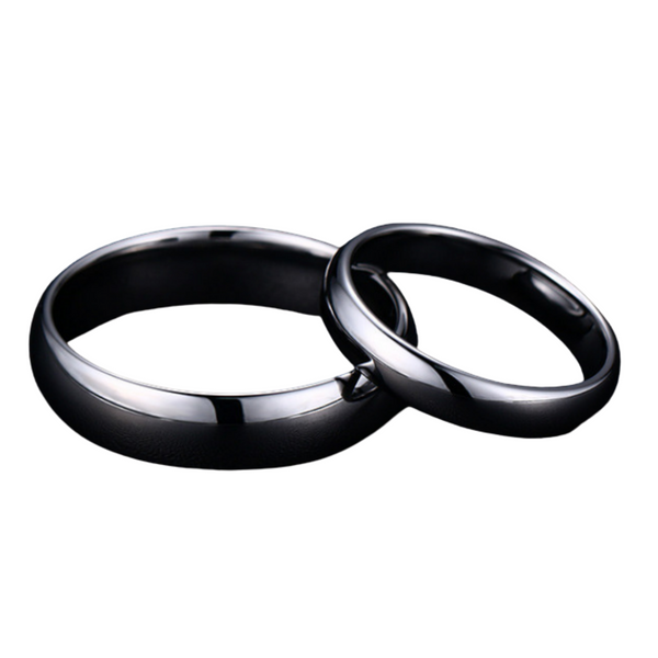 Polished Pure Ring 6mm