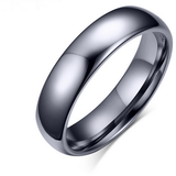 Polished Pure Ring 6mm - primejewelry