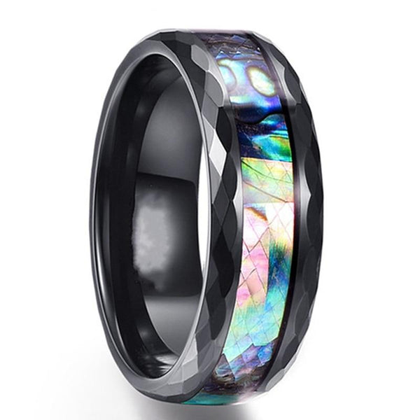 Stainless Steel Tungsten Carbide Ring