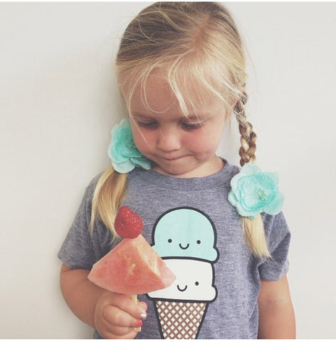 Double Scoop - Ice Cream Short Sleeve T-Shirt