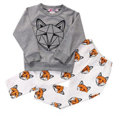 Foxy - Long Sleeve Shirt and Pants