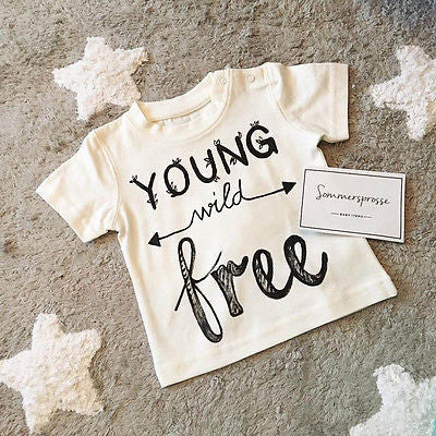 Young Wild Free - T-Shirt