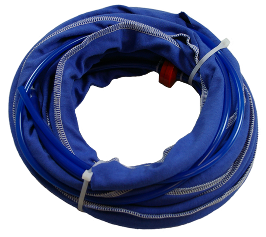 11621 - RSGh hose set blue with hole 20'