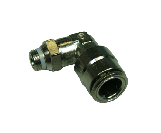 11754 - 3/8 OD Hose x 1/8 Thread Pro-Fit Male Elbow Swivel