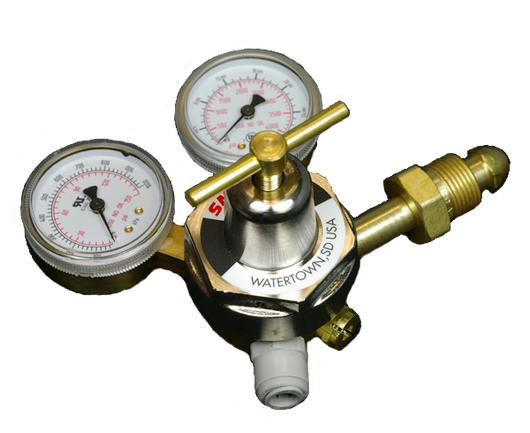 11315 - CGA 580 Inlet Fitting Inert Gas Regulator