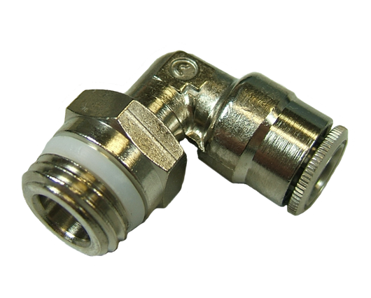 11753 - 1/4 OD Hose x 1/4 Thread Pro-Fit Male Elbow Swivel