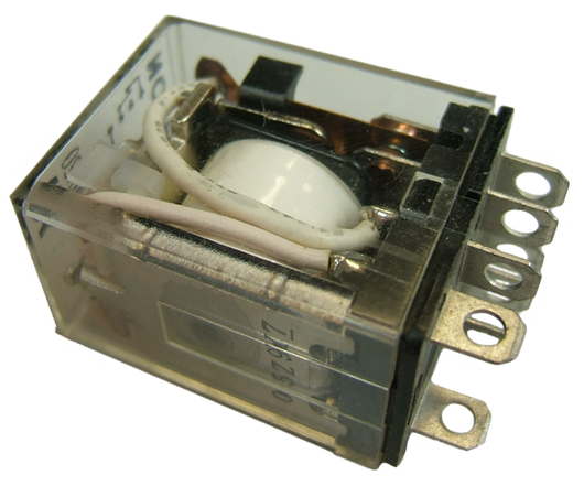 11210 - LY Series Square Base Relay 10 amp