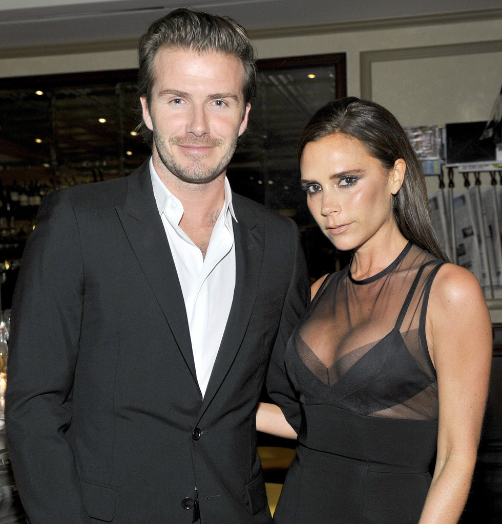 Celebrating The Beckhams anniversary with these throwback photos...