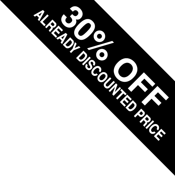 30% Off Already Reduced Prices