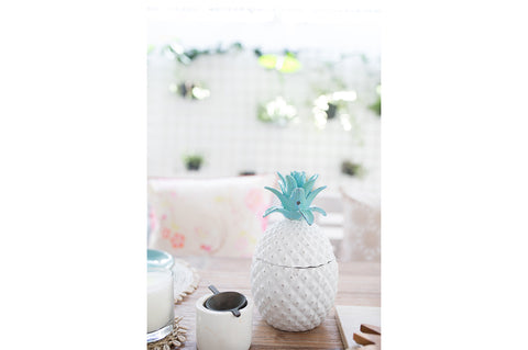 Resin Pineapple Decor