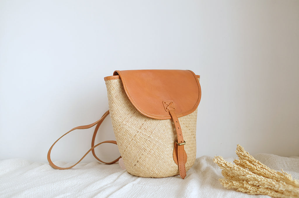 Cara Rattan Backpack