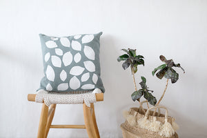 Open image in slideshow, Cotton Cushion Lemon
