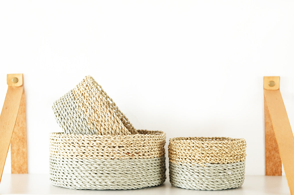 Duo Basket set of 3 Small