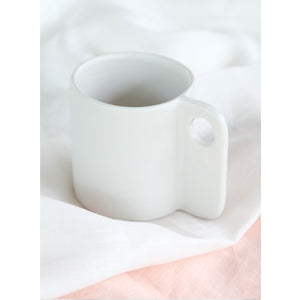 Open image in slideshow, Handmade Ceramic Cup Creme