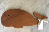 Teakwood Whale Serving Board