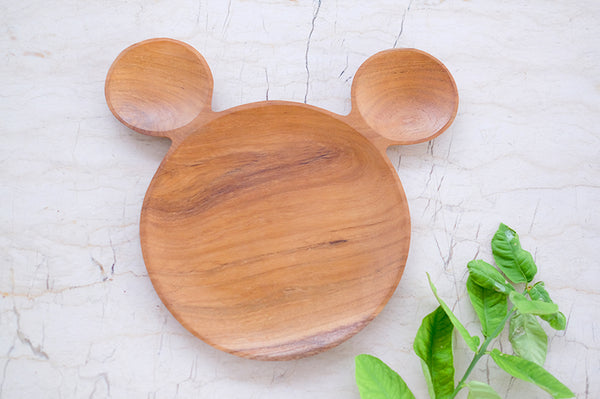 Teakwood Mickey Serving Board