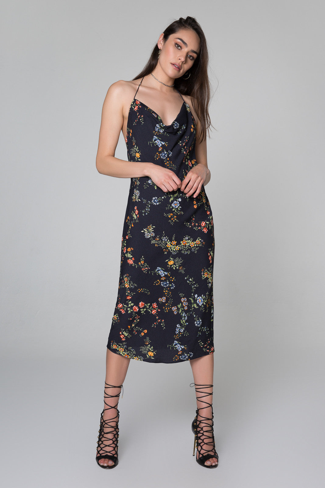 Rowland Halter Midi Dress